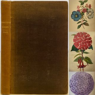 The Floricultural Cabinet and Florists' Magazine, January to December 1842., Volume X. Joseph...